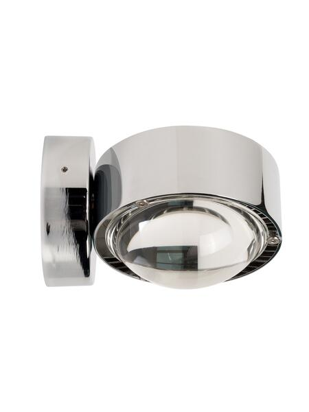 Set Puk Wall Chrome Halogen Glas/Linse
