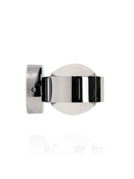Set Puk Wall Chrome Halogen Linse/Linse
