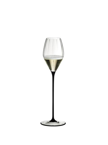 Riedel High Performance Pinot Noir Champagne Glass (Black)
