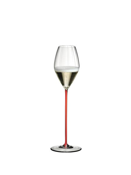 Riedel High Performance Pinot Noir Champagne Glass (Red)