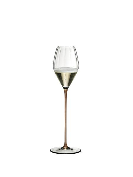 Riedel High Performance Pinot Noir Champagne Glass (Gold)