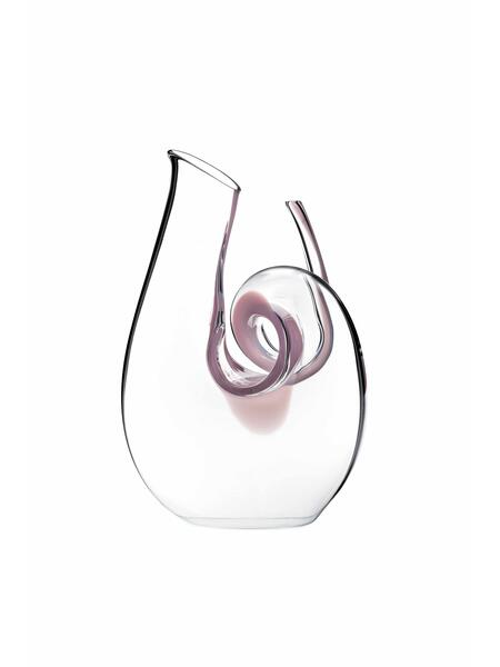 Riedel Dekanter Curly Pink Mini