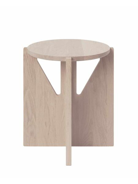 Kristina Dam Studio - Stool, Solid Oak